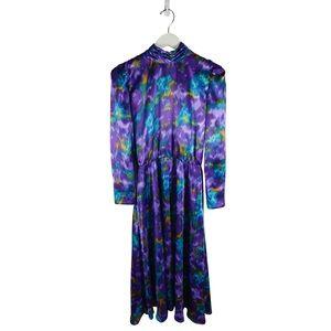 Authentic 80s Era Vintage Dress by Talbots
